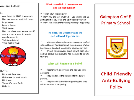 Anti Bullying Policy for Children