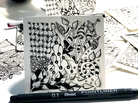 Meditatives Zeichnen - Wie du mit Zentangle®  deinen Alltagsstress abbaust