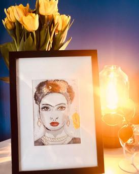 Frida Kahlo Illustration