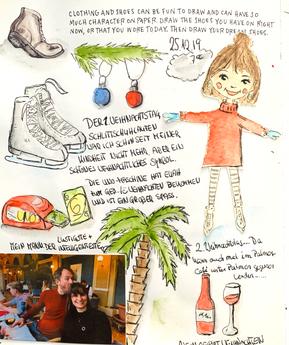 Weihnachten im Palmencafé