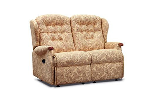 Sherborne Lynton Knuckle Small 2 Seater Manual Recliner Sofa
