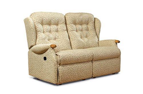 Sherborne Lynton Knuckle Standard 2 Seater Manual Recliner Sofa