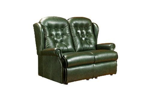 Sherborne Lynton Leather 2 Seater Sofa