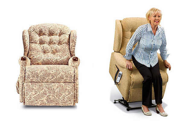 Sherborne Lynton Knuckle Petite Lift & Rise Care Recliner Chair
