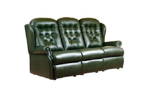 Sherborne Lynton Leather 3 Seater Sofa