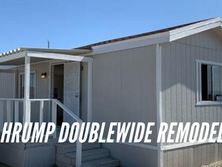 Complete Rehab on Pahrump Doublewide