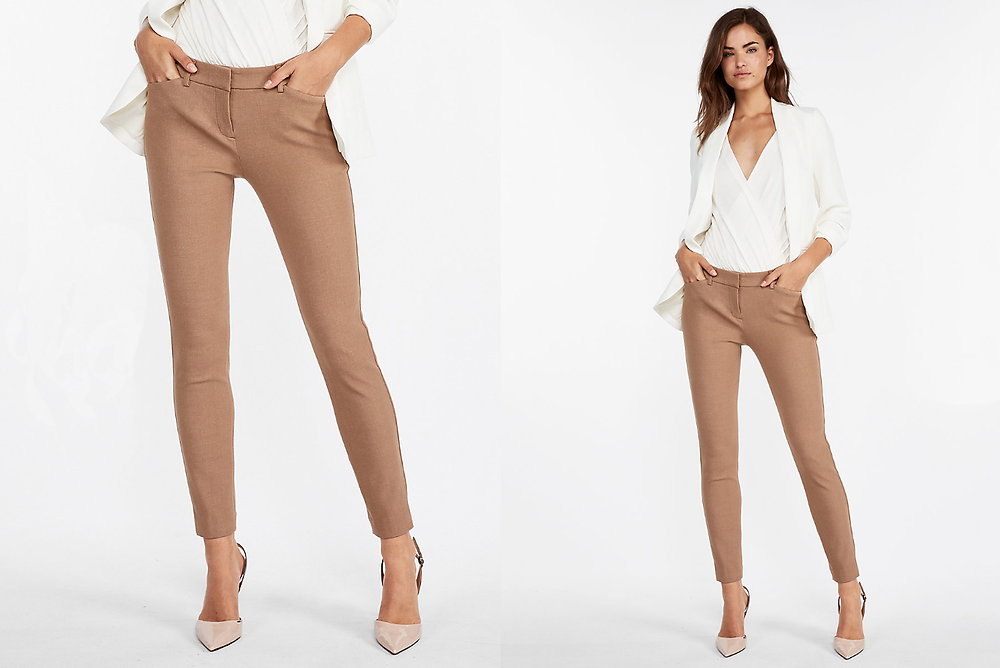 Mid Rise Stretch Skinny Pant, Express, $79.90