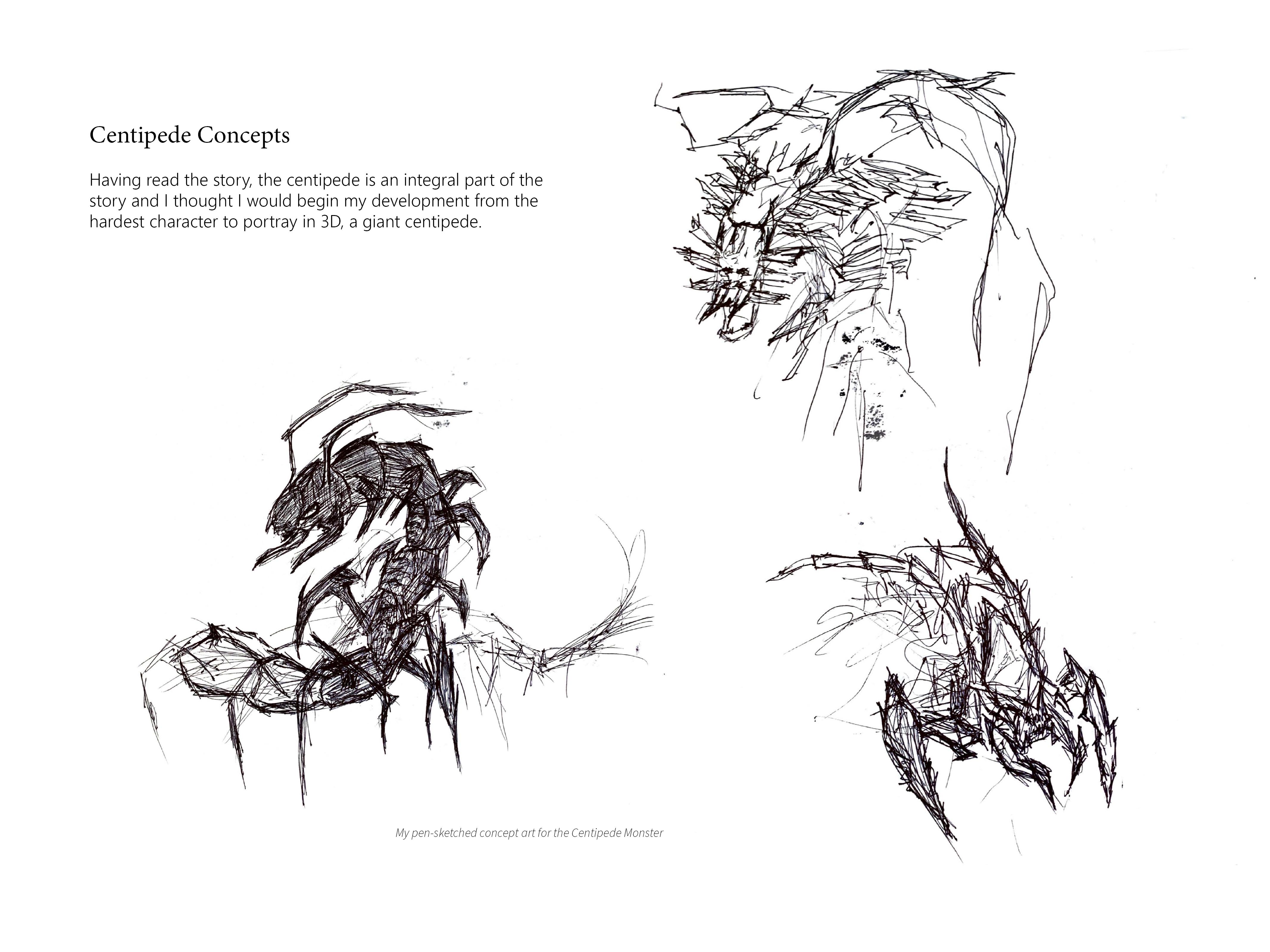 centipedeillustrations