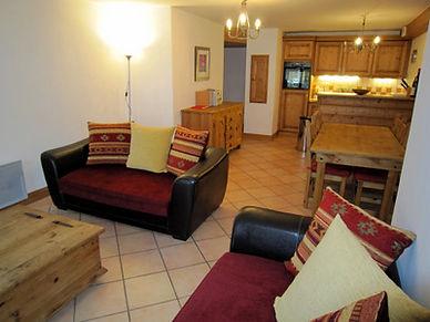 La Ginabelle Chamonix Spacious Living Room
