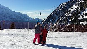 Skiiing La Ginabelle Chamonix