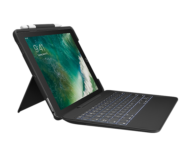 SLIM COMBO FOR iPad Pro 12.9-INCH - Black