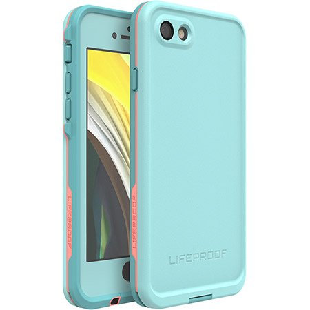 FRĒ Lifeproof Case for iPhone 7/8 - Blue & Pink