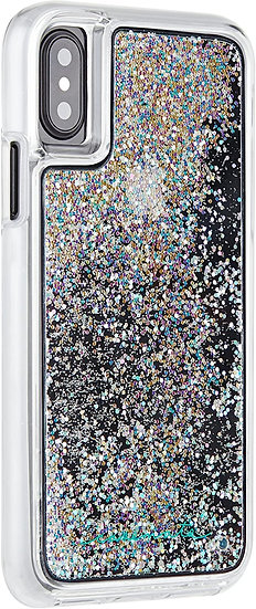 Case Mate Waterfall for iPhone X/XS Plus - Silver