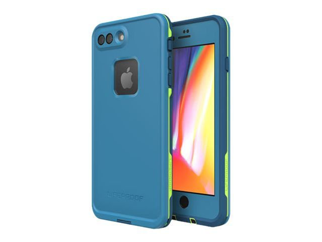 FRĒ Lifeproof Case for iPhone 7/8 Plus - Blue & Green