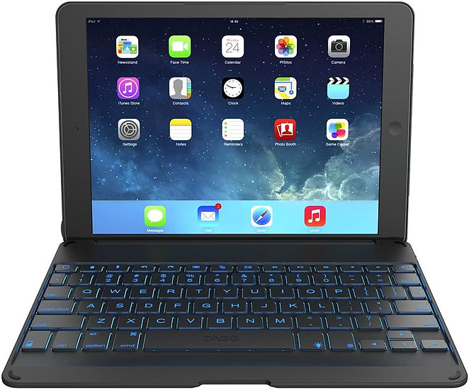 Zagg Folio Keyboard and Case for iPad Air - Black