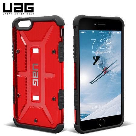 Urban Armor Gear Plasma Series Case iPhone 6/6s Plus - Red