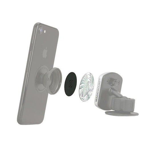 Scosche MagicPlate™ 2-Pack Compatible with the Original PopSockets® Grip