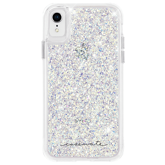 Case-Mate Twinkle Case for iPhone XR - Silver