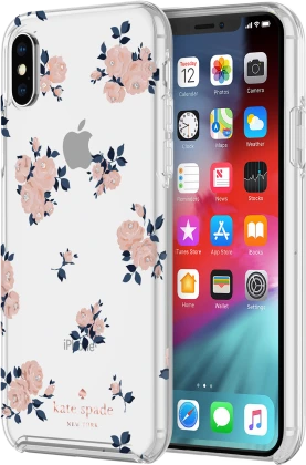 Kate Spade Protective Case for iPhone XS Max - Rose Floral