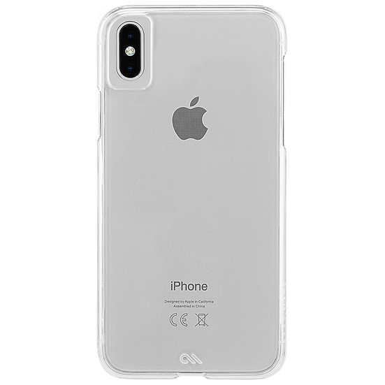 Case-Mate Barely There Case for iPhone XS Max - Clear