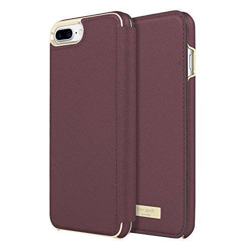 Kate Spade iPhone 6/6s/7/8 Plus Folio Case - Mauve