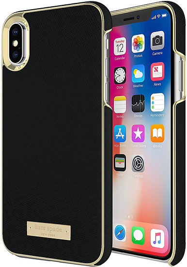 Kate Spade iPhone XS Max Wrap Case - Black