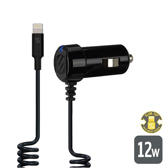 Scosche StrikeDrive™ 12W Car Charger for Lightning™ Devices