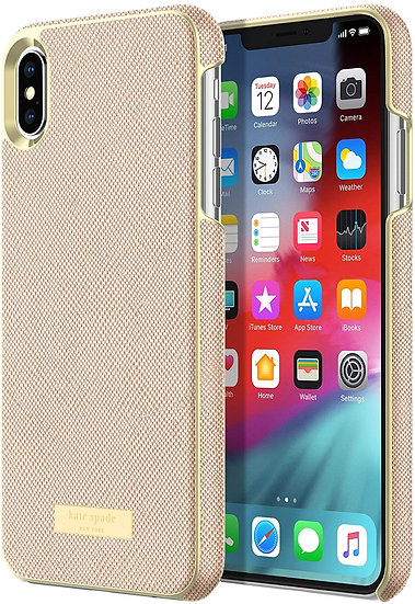 Kate Spade iPhone X/XS Wrap Case - Rose Gold