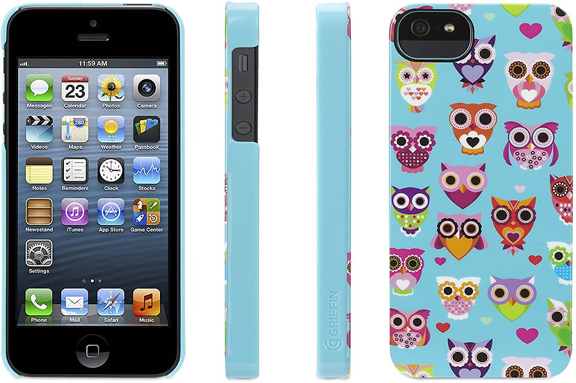Griffin Wise Eyes Owl Case for Apple iPhone 5/5s/SE
