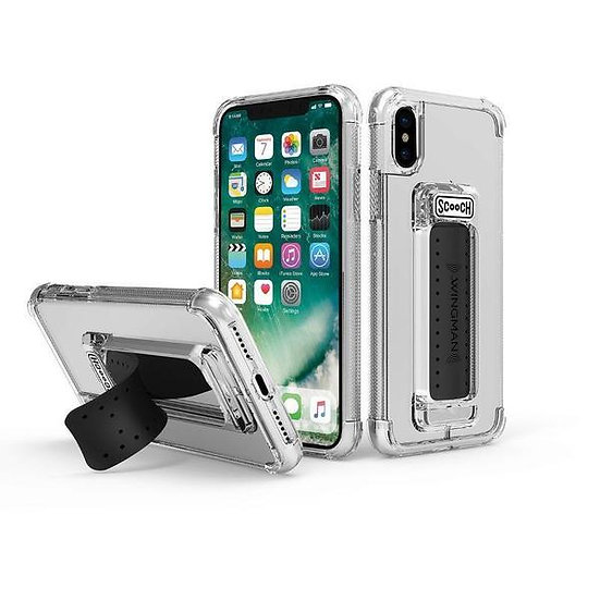 ScoocH Wingman Case for iPhone X/XS - Clear