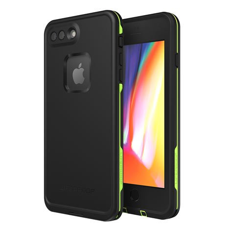 FRĒ Lifeproof Case for iPhone 7/8 Plus - Black & Green