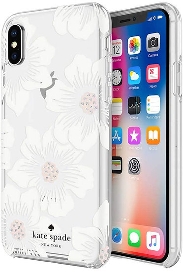 Kate Spade Protective Case for iPhone XS Max - Hollyhock Floral