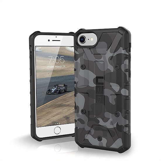 Urban Armor Protection Pathfinder Case for iPhone 6/6S/7/8 - Midnight Camo