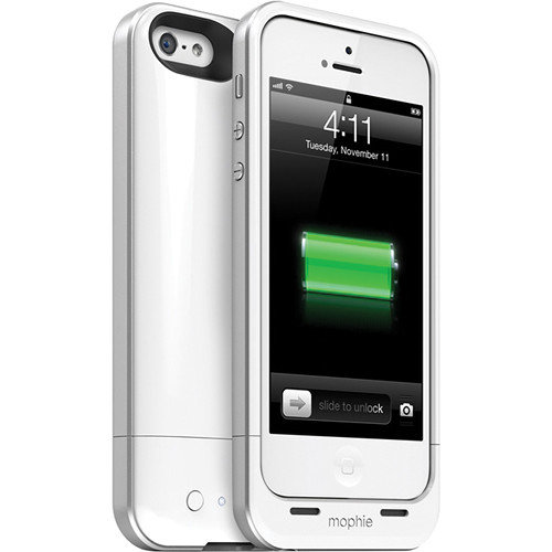 Mophie Juice Pack Air for iPhone 5/5s/SE - White