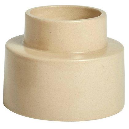 OYOY, candleholder/ flowerpot beige