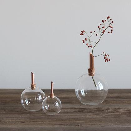 SCANDINAVIAFORM, set of 3 glass vase