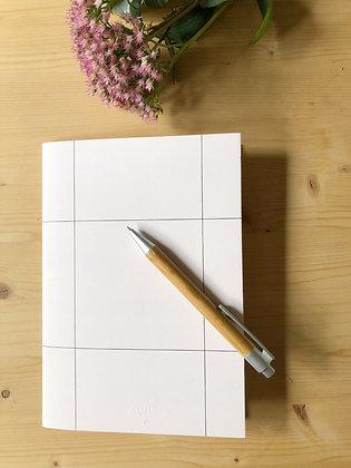 ÄLVIS PAPER notebook A5 in white
