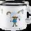 Thumbnail: MUURLA, Pippi and the horse enamel mug