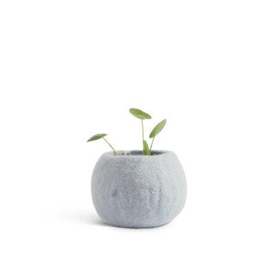 AVEVA flower pot, artic blu (Small)
