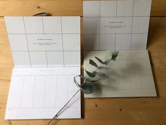 ÄLVIS PAPER week planner A5 in white
