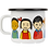 Thumbnail: MUURLA, Pippi enamel mug