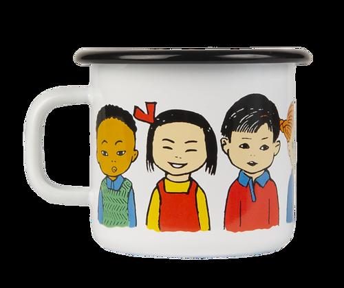 MUURLA, Pippi enamel mug