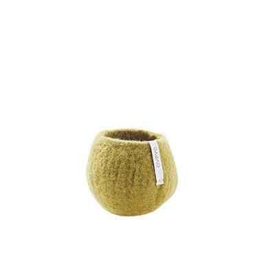AVEVA flower pot, olive (Small)