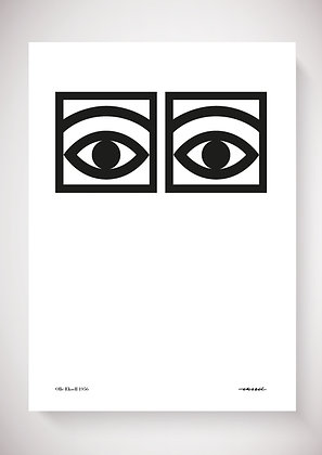 OLLE EKSELL poster Ögon