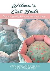 cat beds Wilma Hyman