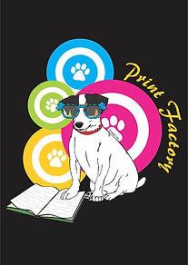 printing design photography magic dogs