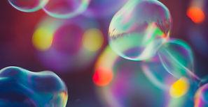 Bunte Luftblasen