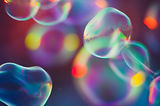 Красочные пузыри