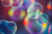 bulles colorées