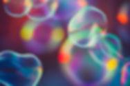 カラフルなバブル